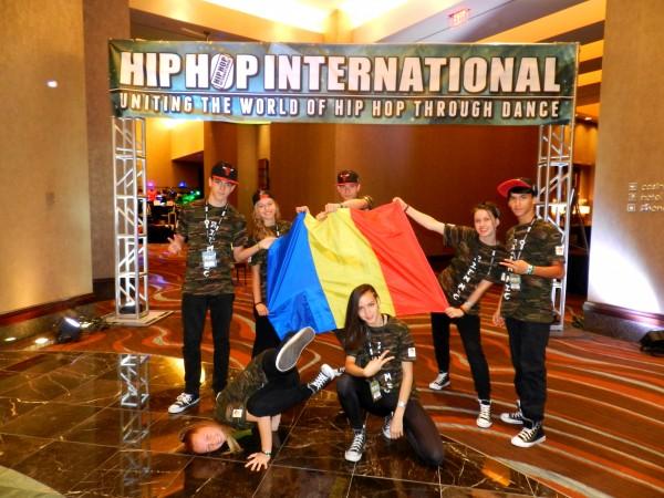 "CAMPIONATUL MONDIAL ""WORLD HIP HOP DANCE CHAMPIONSHIP"" – DELEGAȚIE F.R.T. BIHOR"
