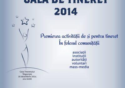 GALA DE TINERET TÂRGOVIȘTE 2014, EDIȚIA I
