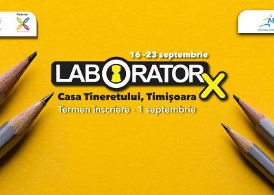Laborator X   Laboratorul de tineret – asigurarea egalității de șanse prin educație non-formală