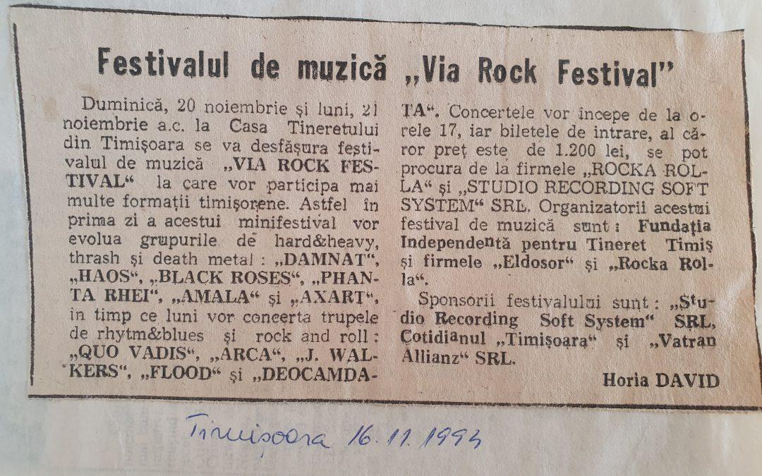 VIA ROCK FESTIVAL