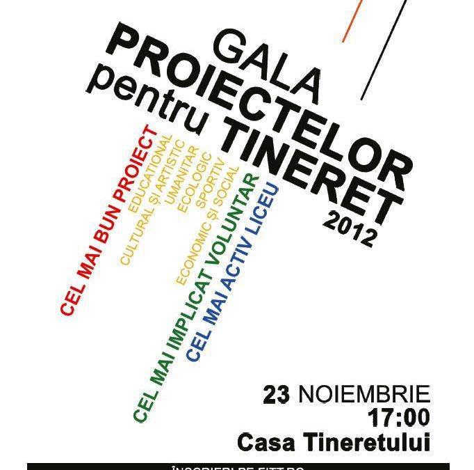 Gala Proiectelor pentru Tineret